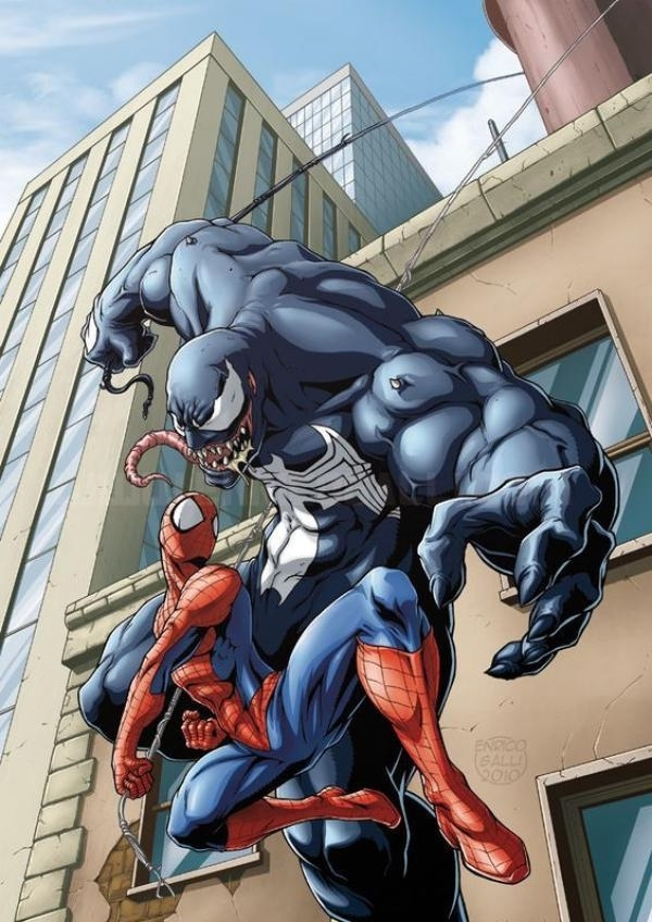 电影:蜘蛛侠外传《毒液》新剧照 蜘蛛侠将与中国打手切磋