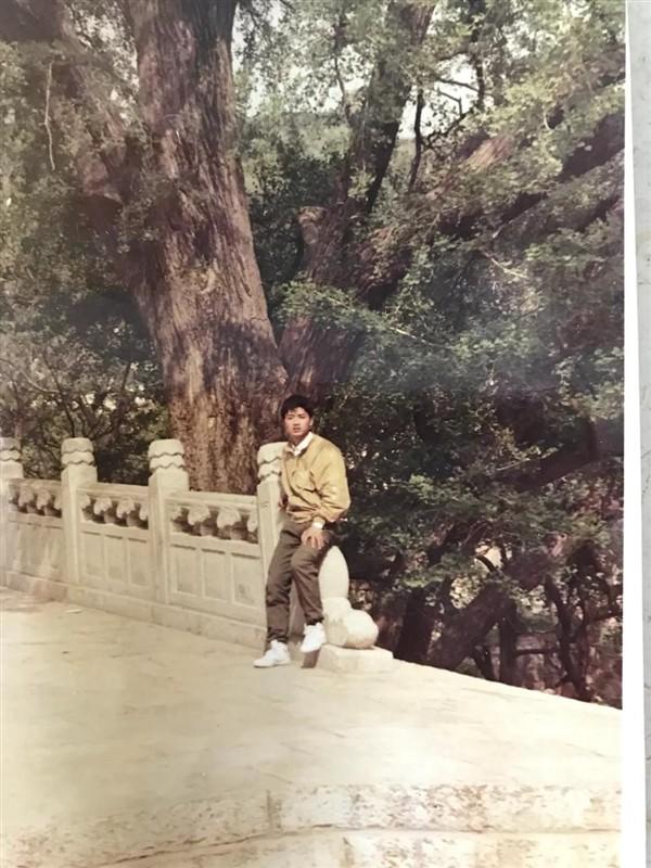 刘强东18岁照片