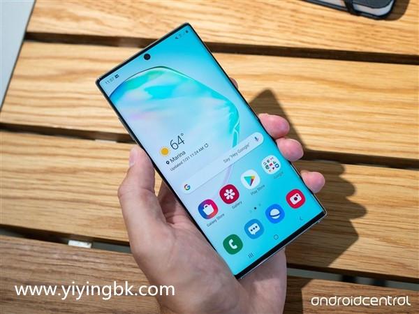 知名评测机构评价三星Galaxy Note 10+:屏幕历史以来是最佳