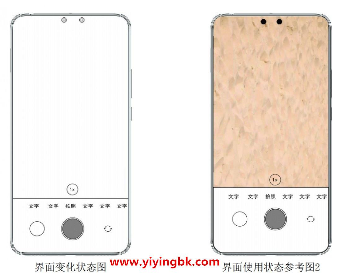 小米新外观专利公布:屏下隐藏式双摄,像两个鼻孔!